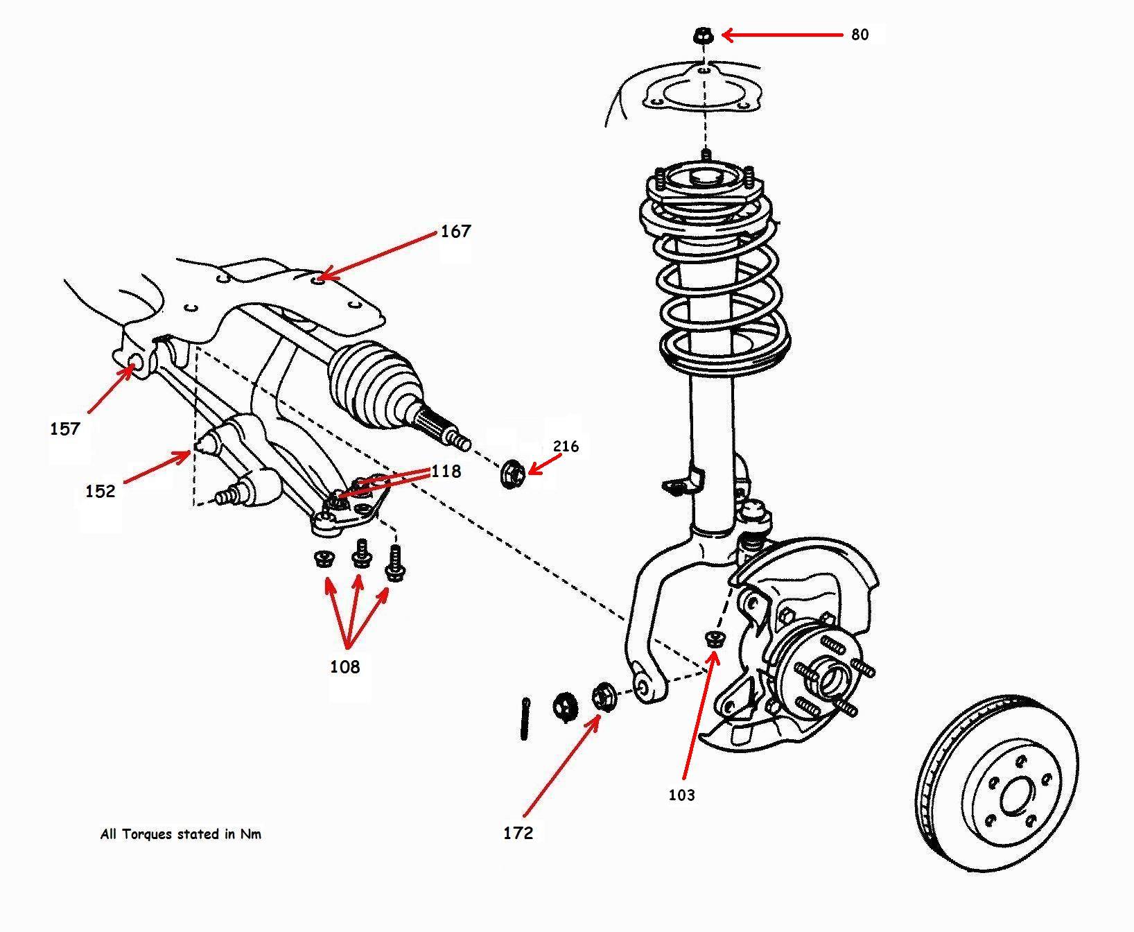 toyota celica gt4 st205 super strut suspension replacement